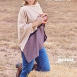 Asymmetrical Poncho (Free Pattern, Ladies sz S/M and L/XL)