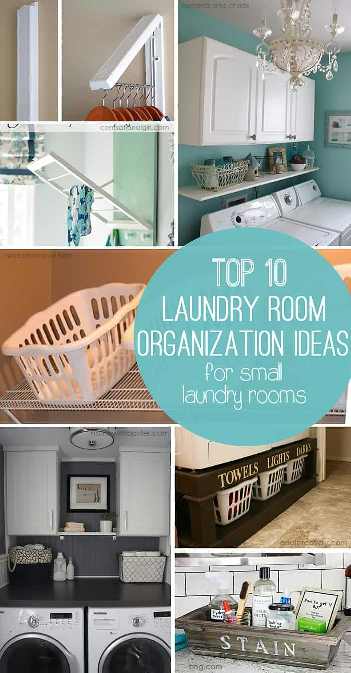 10 Storage Ideas for Small Laundry Rooms - Scattered Thoughts of a ...