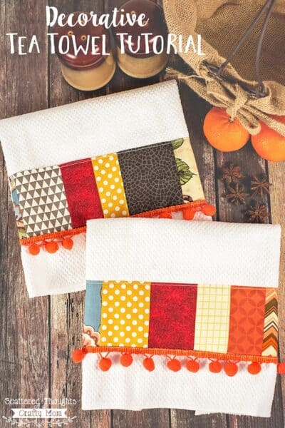 DIY Decorative Tea Towels