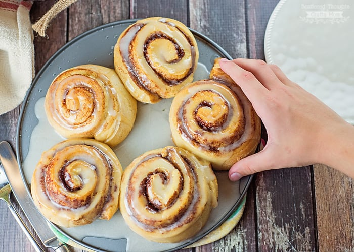 Grands cinnamon rolls.