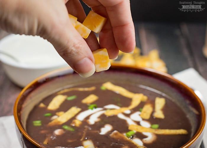Black Bean Soup Recipe.