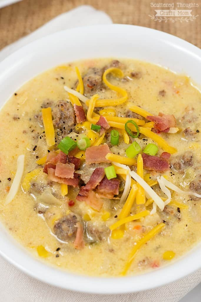 Crock pot Chowder Recipe.