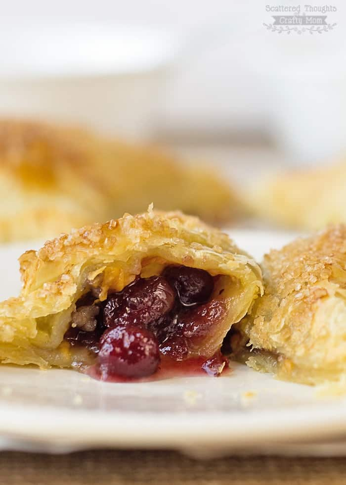 Cranberry Hand Pies - Tastiest way to use leftover Cranberry Sauce.