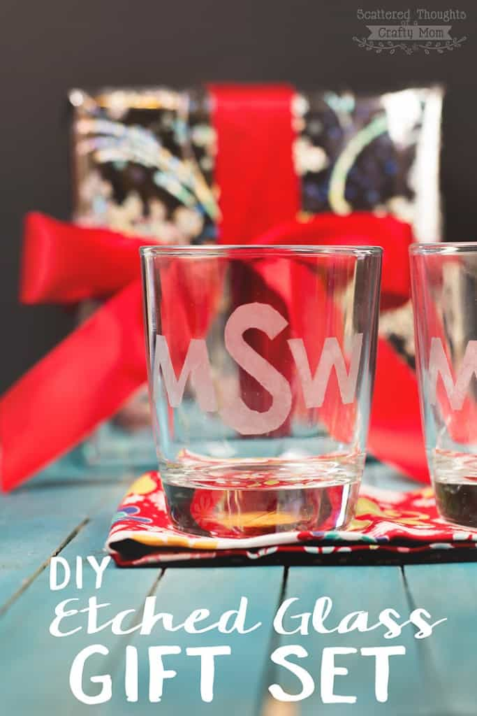 How to make an Etched Glass Gift Set