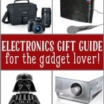 Gift Guide for the Electronics Lover! (Plus a $200 Gift Card Giveaway!)