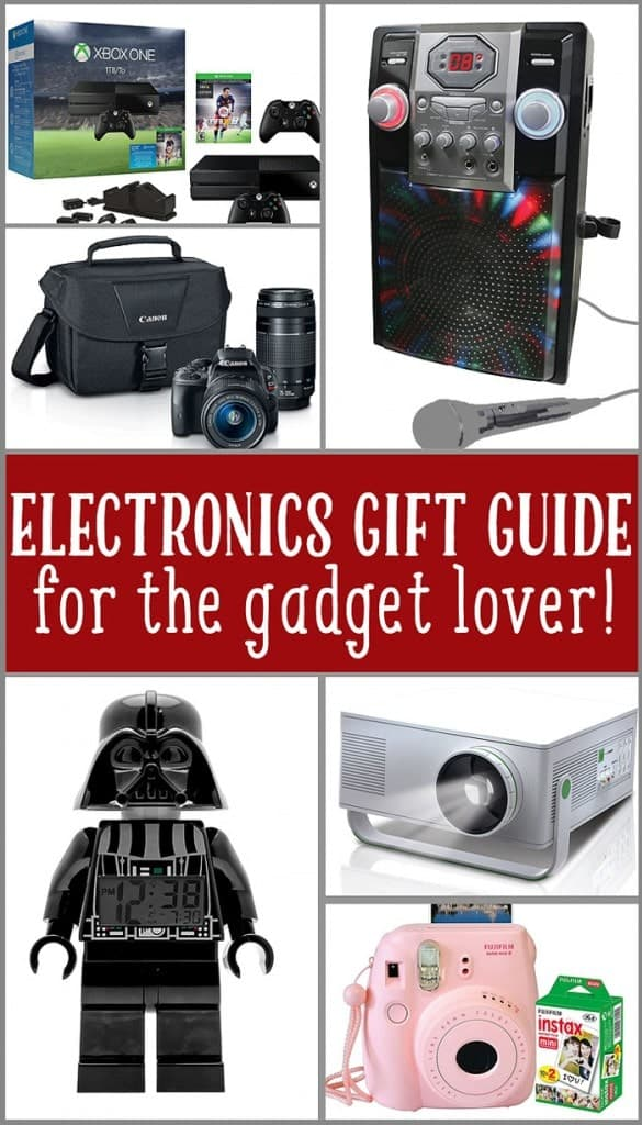 Holiday Gift Guide for the Electronic Gadget Lover!
