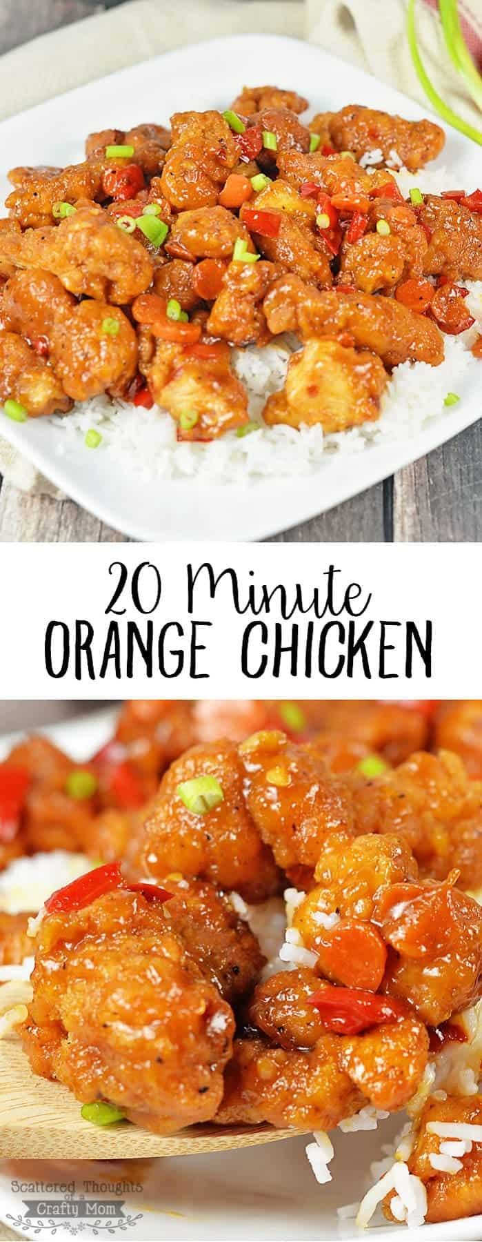 Easy Orange Chicken Recipe On The Table In 20 Minutes