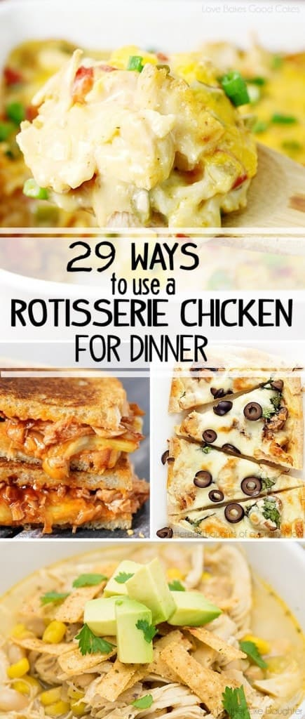 29 Dinner Ideas from a Rotisserie Chicken