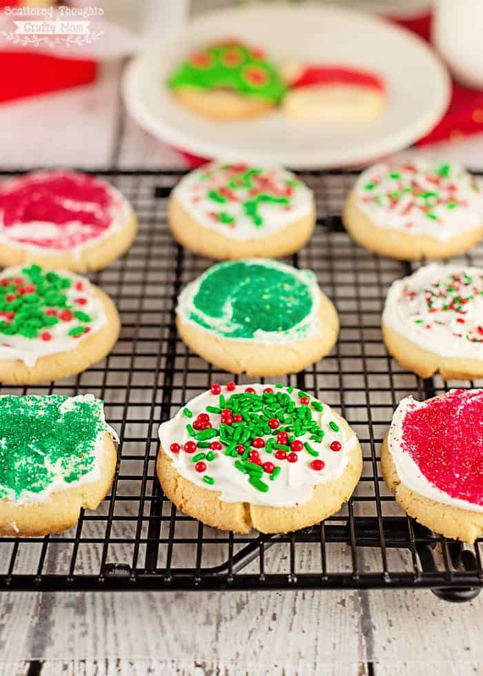 Easy Holiday Sugar Cookies