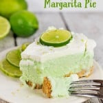 Boozy (or not) Frozen Margarita Pie Recipe