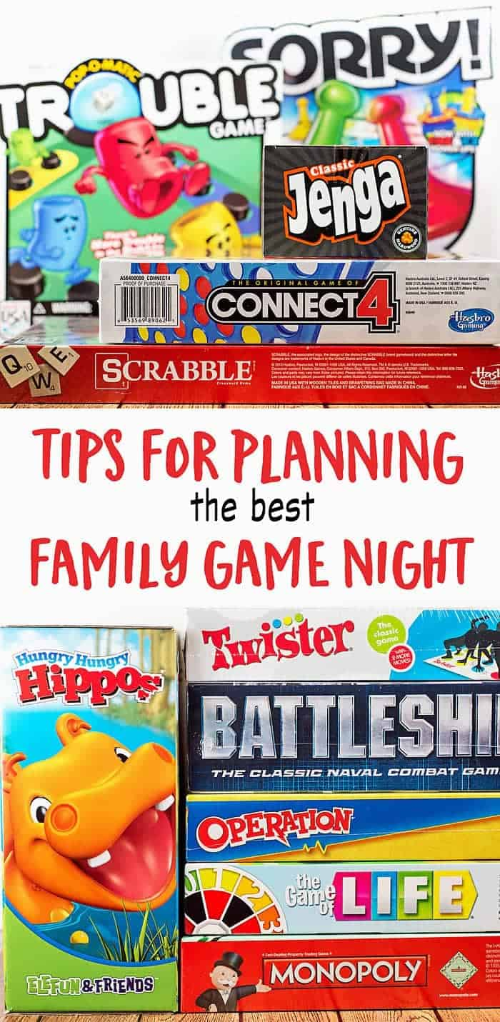 Plan the Best Family Game Night