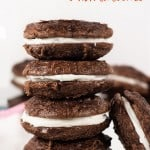 Easy Brownie Sandwich Cookies