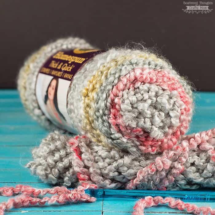 lion brand yarn homespun chunky yarn