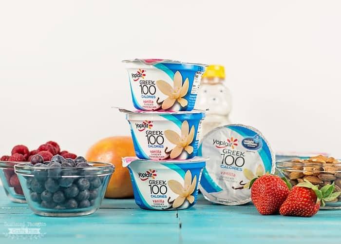 How to make yogurt bowls