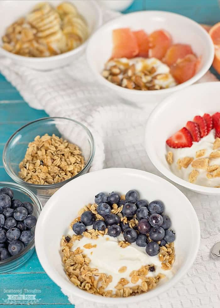 Easy yogurt bowl ideas