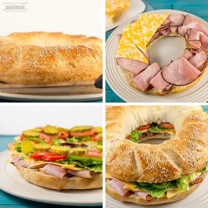 DIY Sub Sandwich Ring