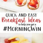 Quick and Easy Back to School Breakfast Ideas!