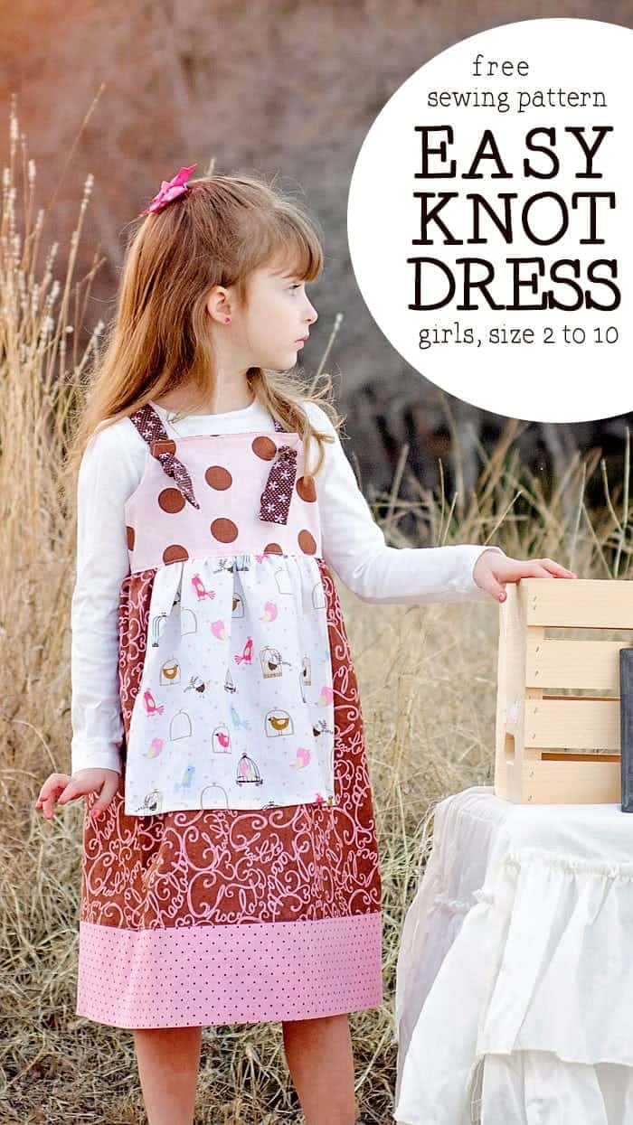 free knot dress pattern