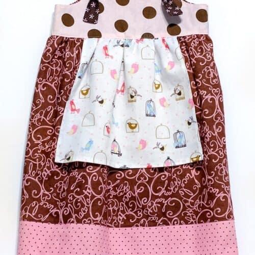 free knot dress pattern