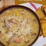 Easy White Bean Chicken Chili Recipe