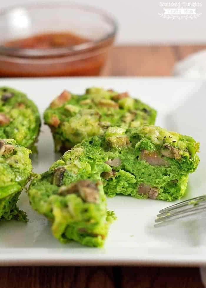 Green Eggs and Ham Recipes (mini frittatas)