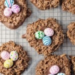 The Double Chocolate Easter Basket Cookies that need to go on your Must Make List!