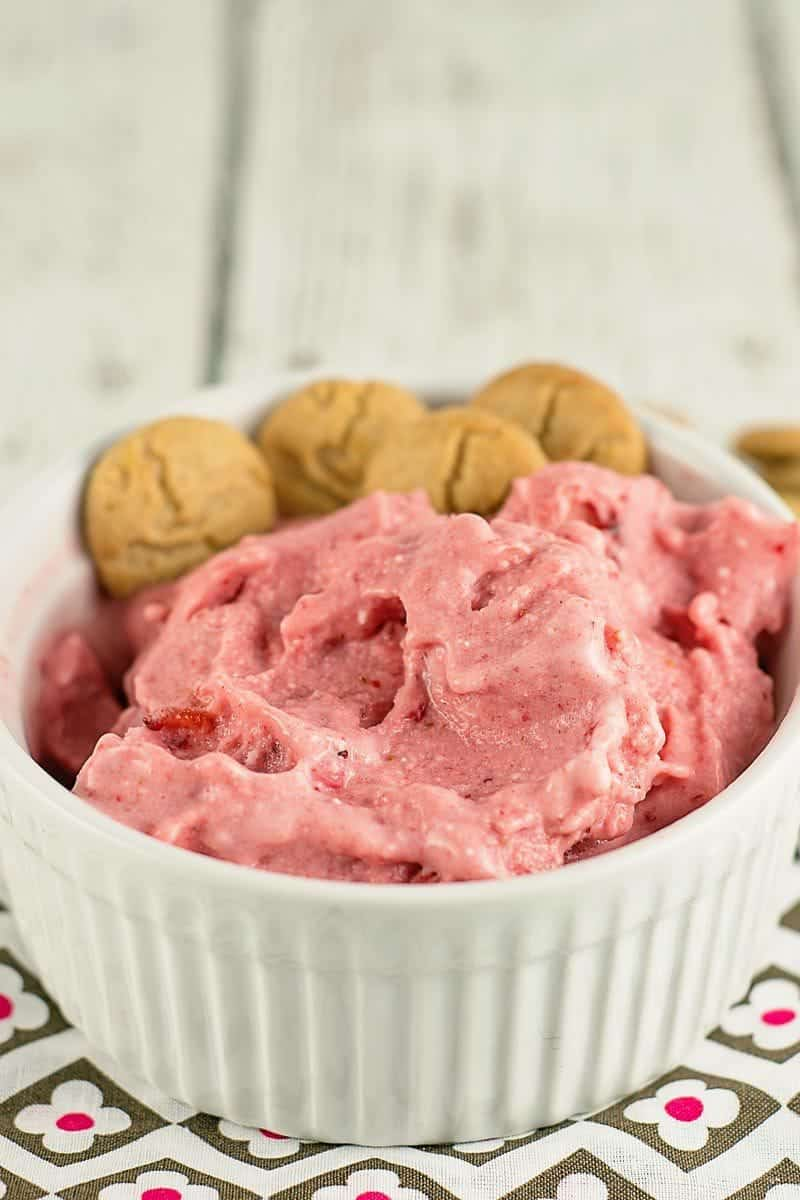 One Minute Strawberry Ice Cream Recipe