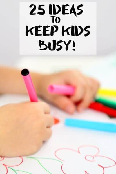 25 Ideas to Keep Kids Busy During Spring Break