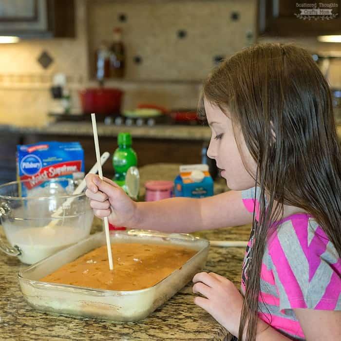 how to make a key lime poke cake