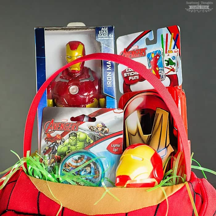 No Candy Easter Basket Ideas for your MARVEL Fan