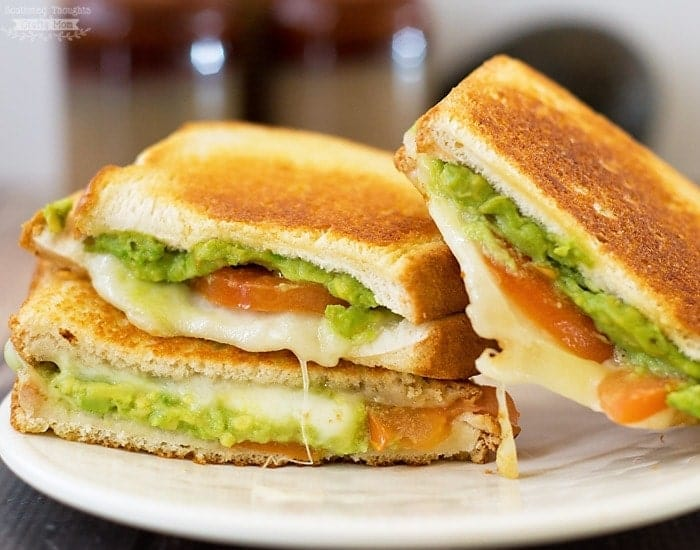Grilled Cheese with Avocado and Tomato
