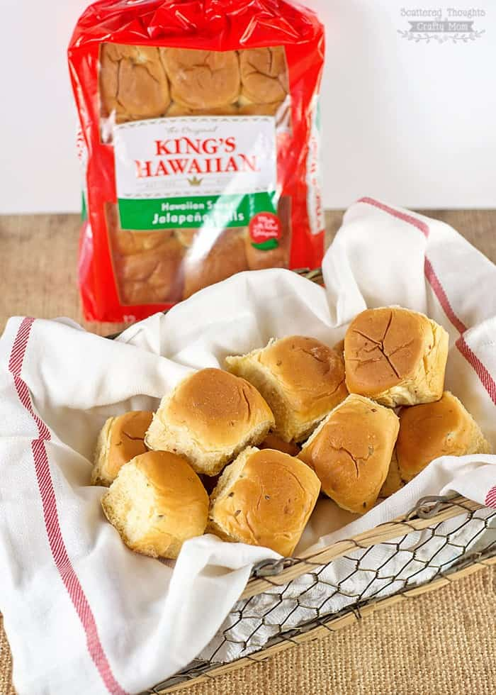 King's Hawaiian jalapeno rolls