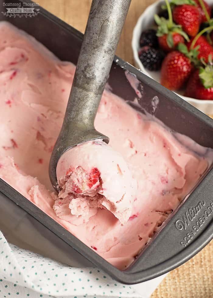 Easy frozen yogurt recipe