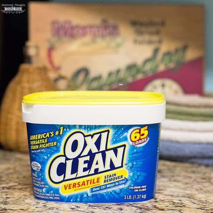 how to use oxiclean to remove stains
