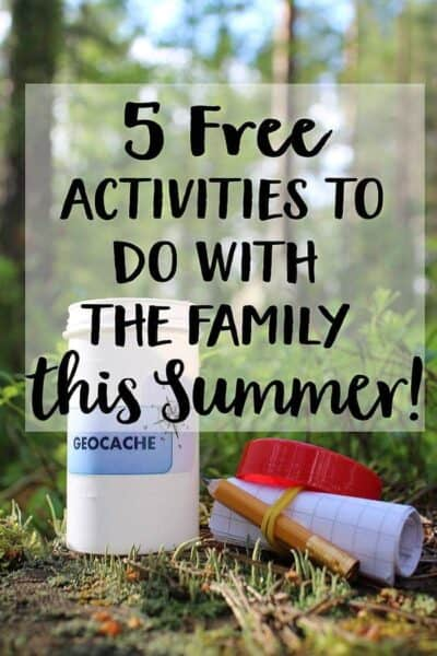 5 Free Activities to do with the Family this Summer!