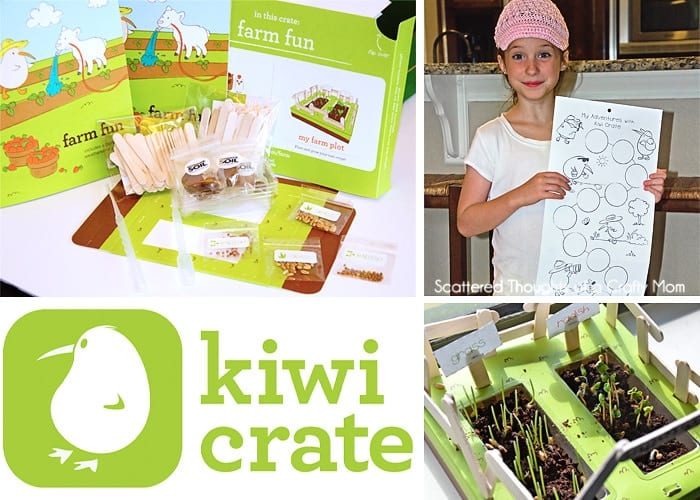 Thinking about giving a Kiwi Crate Box or a craft subscription box as a gift?  Here is our experience and a Kiwi Crate Review: