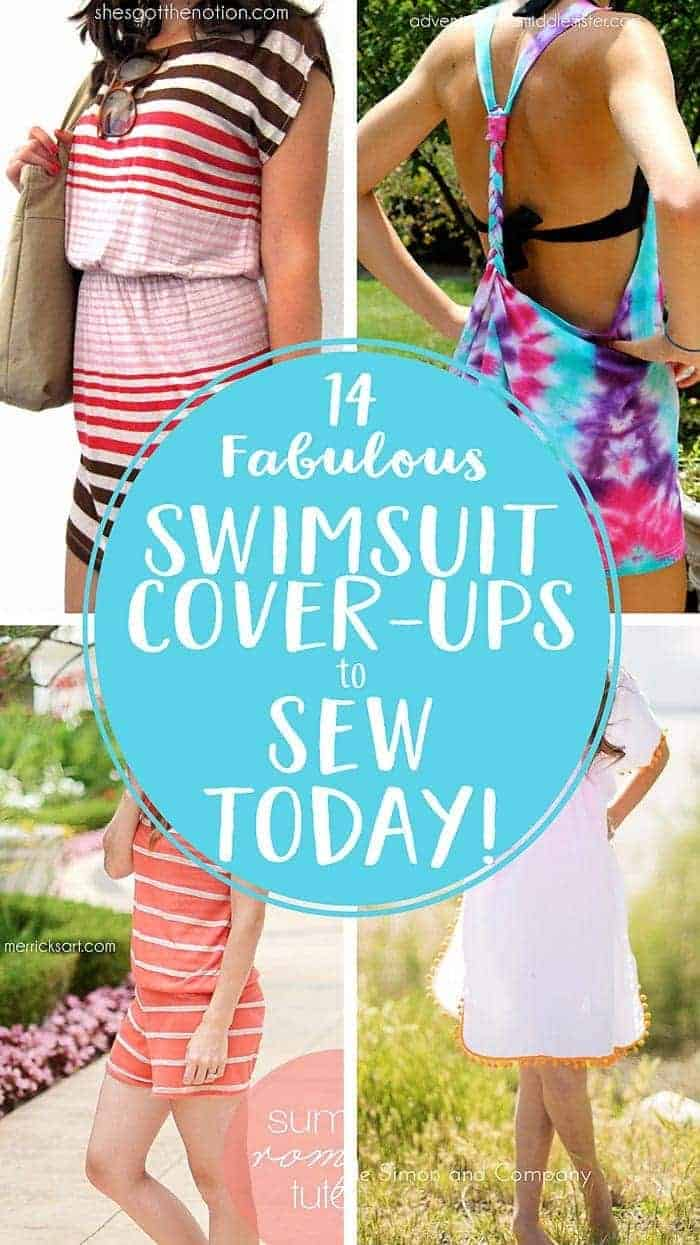 2817946444 14 Fabulous Swimsuit Cover-ups you can Sew Today!