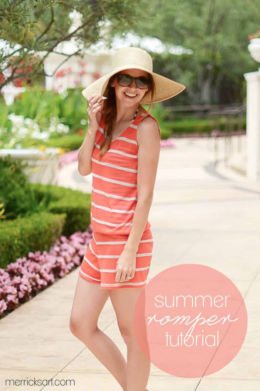 a91503bf817dd DIY Romper Cover up · 14 Beach Cover-ups to sew.