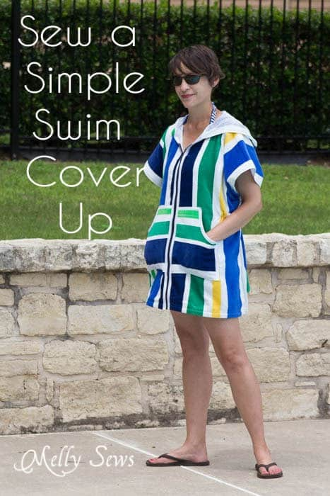 14 swimsuit coverups to sew.