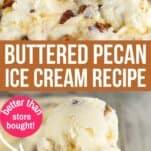 buttered pecan ice cream