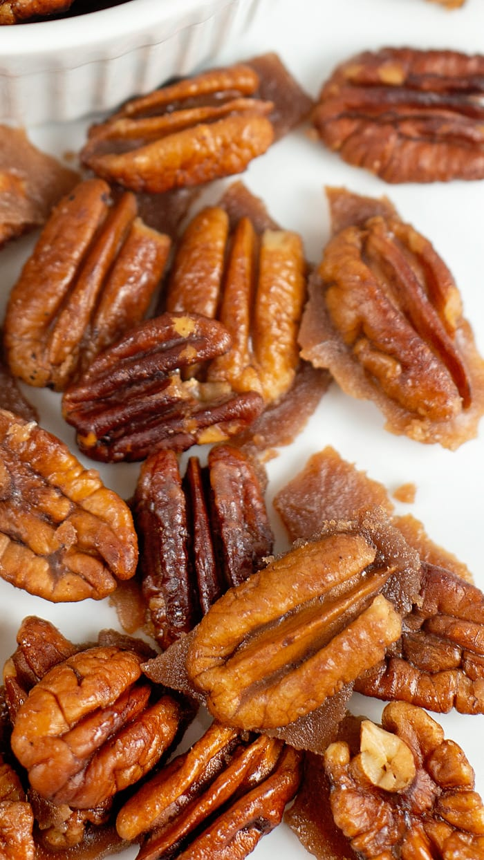 easy keto candied pecans