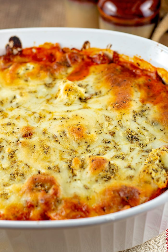 cheese tortellini bake