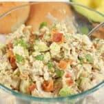 Avocado and Bacon Chicken Salad