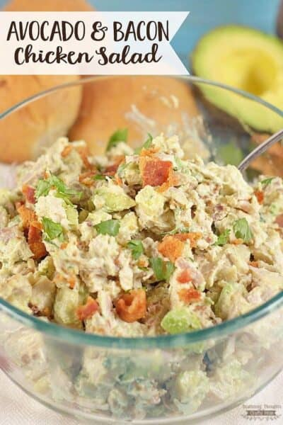 Avocado and Bacon Chicken Salad
