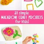 21 Simple Macaroni Crafts for Kids