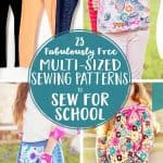 27 Free Multi-sized PDF Sewing Patterns for School