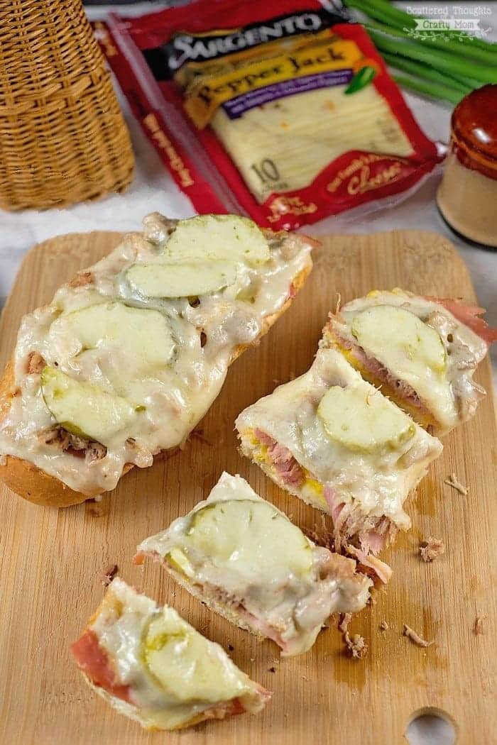 Cuban French Bread Pizza