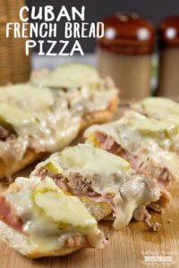 Cuban French Bread Pizza Recipe.