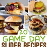 "Love Sliders? Burger Sliders Recipes are always a ""home run"" for game day! Here are 20 of the best sliders recipes out there!"