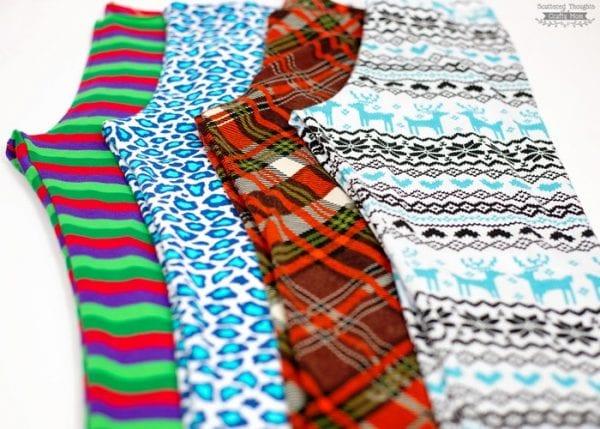 Free Girls legging pattern size 3 to 12